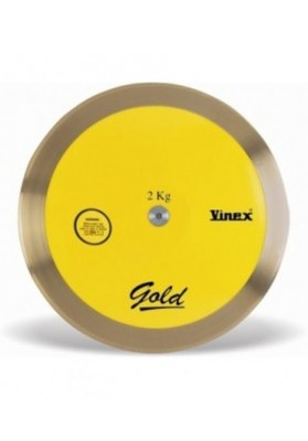 Varžybinis diskas GOLD 100 2 kg Vinex