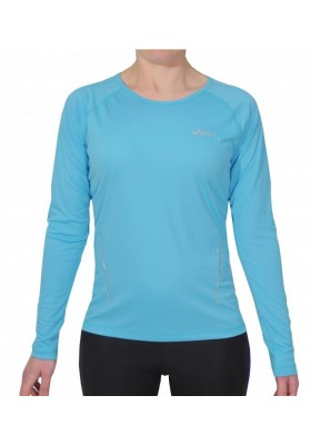 Moteriški bėgimo marškinėliai ilgomis rankovėmis Asics