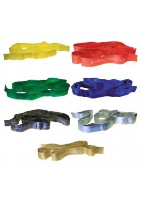 Thera-band elastinė juosta su kilpomis CLX