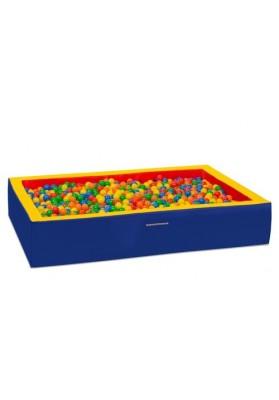 Kamuoliukų baseinas vaikams stačiakampis