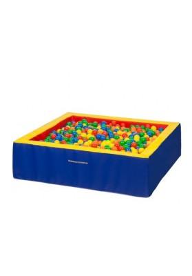Kamuoliukų baseinas vaikams keturkampis