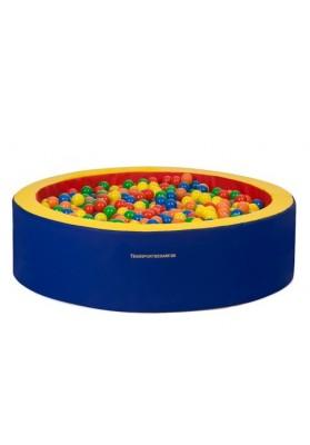 Kamuoliukų baseinas vaikams apvalus