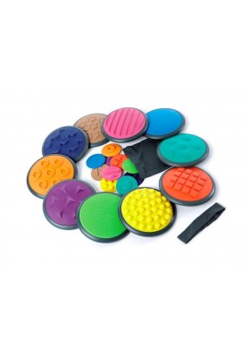 Sensoriniai diskai Gonge® (Didysis komplektas, 10 vnt)
