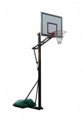 Reguliuojamo aukščio lietuviškas krepšinio stovas