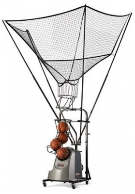 Basketball shooting machine