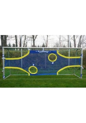 Football net - shooting target trainer