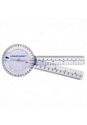 Plastikinis goniometras SAEHAN 360° / 20cm