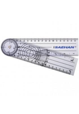 Plastic goniometer SAEHAN Rulong 360° / 20cm
