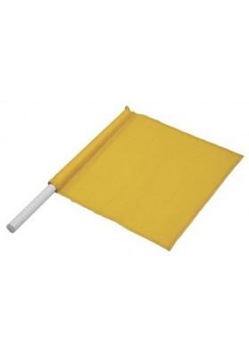 Geltona vėliavėlė lengvosios atletikos teisėjui