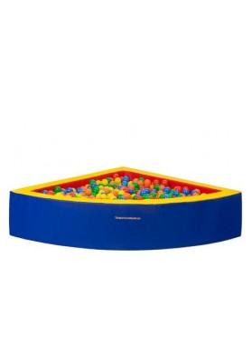 Kampinis kamuoliukų baseinas vaikams