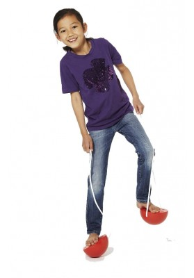 Balance plastic hemispheres Gonge® (2 pairs)