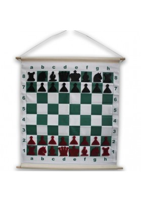 Magnetic rollable demo chessboard
