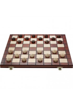 Wooden cheeckers