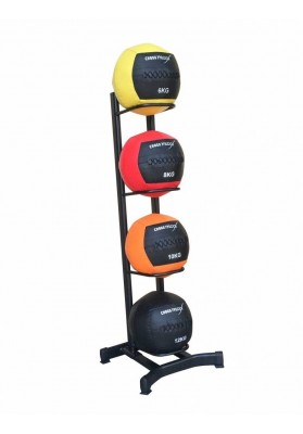 Rack for medicine ball