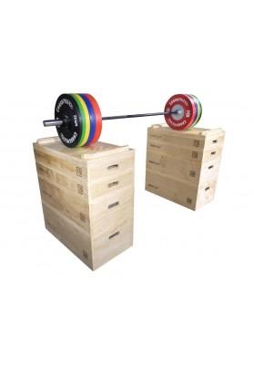 Wooden jerk block set