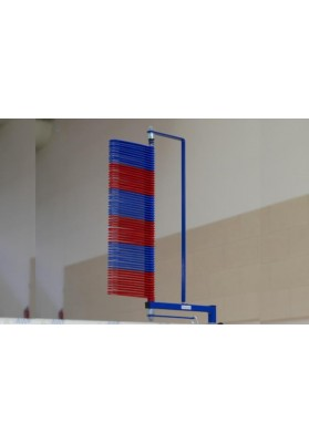 Vertical jump measuring device
