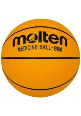 Pasunkintas geltonas 6 dydžio krepšinio kamuolys Molten.