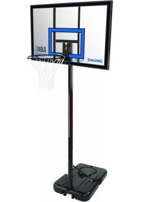 Mobilus krepšinio stovas su akriline lenta lanku ir tinkleliu