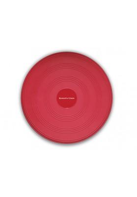 Raudona apskrita pusiausvyros pagalvėlė Trendysport