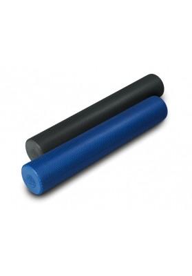 Du ilgi pilates treniruočių volai mėlynas ir juodas