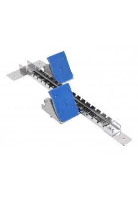 Mėlynos varžybinės starto kaladėlės Vinex