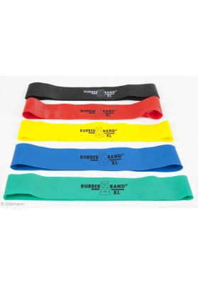 Sporto gumos penkių spalvų Rubberband xl