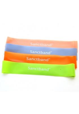 Keturios gumos žiedai sanctband mini