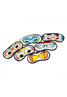 Akių raiščiai žaidimams užrištomis akimis.