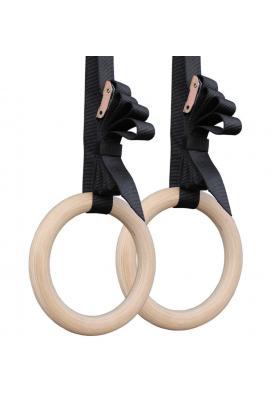 Gimnastikos žiedai mediniai