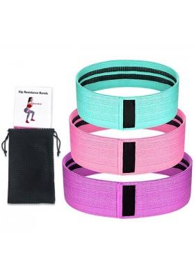 Tekstilinių elastinių pasipriešinimo gumų rinkinys