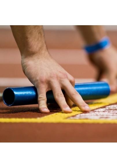 Estafečių lazdelės estafetiniam bėgimui