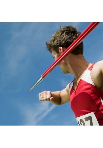 Sporto įranga, sporto inventorius lengvajai atletikai, startukai.
