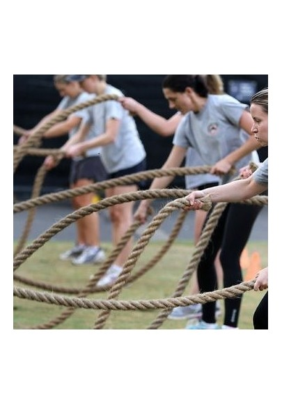 Power bands and ropes