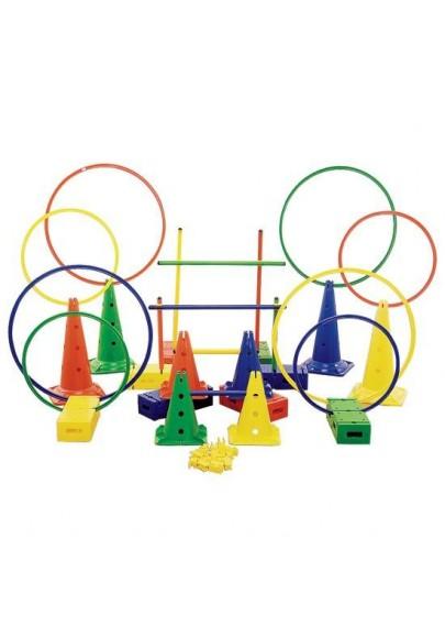 Sporto priemonės estafetėms darželiuose